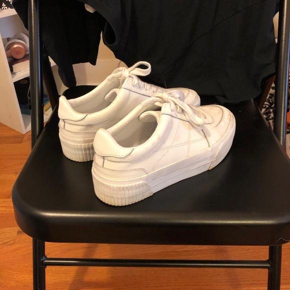 ASOS Shoes | White Platform Sneakers